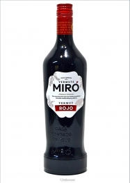 Miró Rouge Vermout 15% 100 cl - Hellowcost