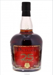 Dictador 10 Years Rhum 40% 70 cl - Hellowcost