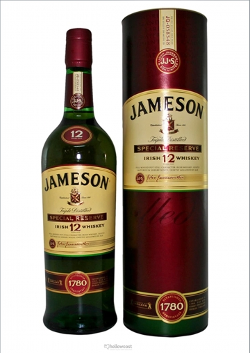 Jameson Whisky 12 Ans Special Reserve 40% 70 Cl