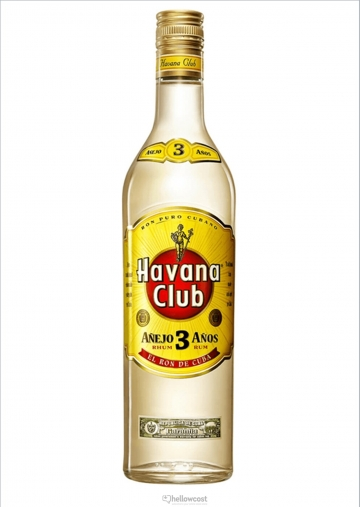 Havana Club 3 Years Rhum Blanc 40º 70 Cl