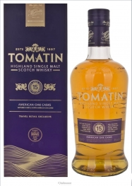 Tomatin 12 Years Bourbon &amp Sherry Cask Whisky 43% 100 cl - Hellowcost