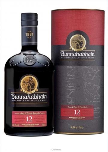 Bunnahabhain Islay 12 Years Single Malt Whisky 46.3º 70 Cl