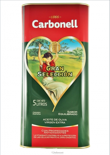 Carbonell Huile D´Olive Vierge Extra 5 Litres