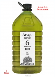 Artajo Huile D'olive Vierge Extra Arbequina Extraction À Froid Pet 5 Litres - Hellowcost