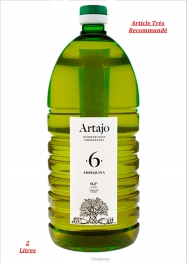 Artajo Huile D'olive Vierge Extra Arbequina Extraction À Froid Pet 2 Litres - Hellowcost