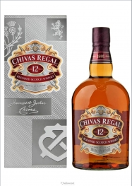 Chivas Regal 12 Years Whisky 40º 1 Litre - Hellowcost