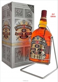 Chivas Regal 12 Ans 40% 4,5 Litres Whisky - Hellowcost