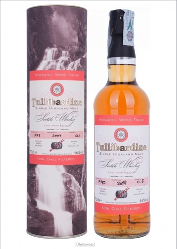 Tullibardine Moscatel Wood Finish Whisky 1993 46º 70 Cl