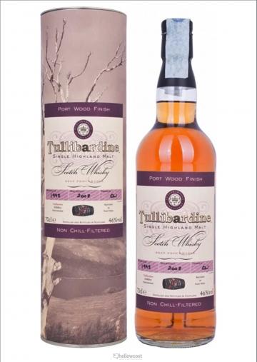 Tullibardine Port Wood Finish Whisky 1993 46º 70 Cl