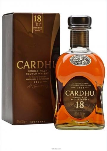 Cardhu Malt 18 Years Whisky 40º 70 Cl