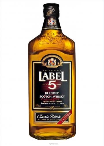 Label 5 Magnum Whisky 40º 2 Litres