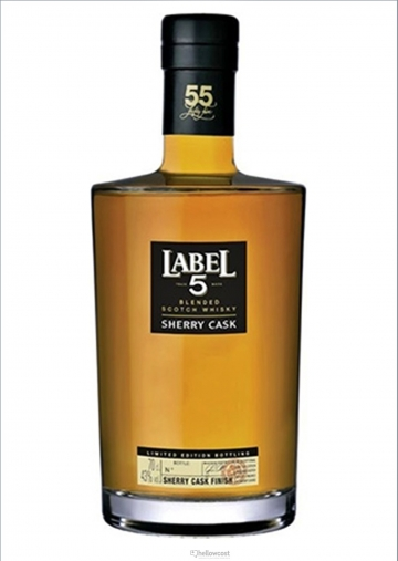 Label 5 Single Cask Reserve Nº 55 Whisky 43º 70 Cl