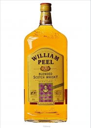 William Peel Magnum Whisky 40º 1,5 Litres - Hellowcost