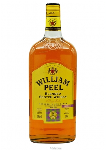 William Peel Magnum Whisky 40º 2 Litres