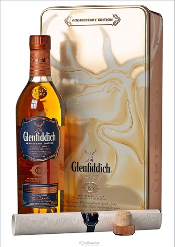 Glenfiddich 125 Aniversary Edition Whisky 43% 70 Cl