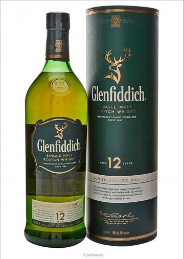 Glenfiddich 12 Years Malt Whisky 40º 1 Litre