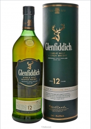Glenfiddich 12 Years Malt Whisky 40º 1 Litre - Hellowcost