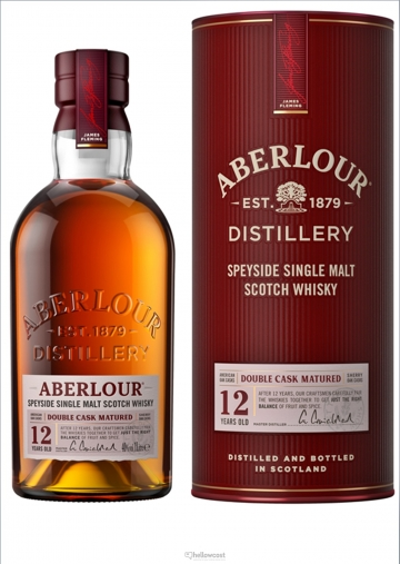 Aberlour 12 Years Double Cask Matured Whisky 40% 100 cl