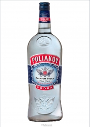 Poliakov Vodka 37.5% 150 cl - Hellowcost