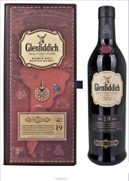 Glenfiddich 19 Years Red Wine Cask Finish Whisky 40% 70 Cl - Hellowcost