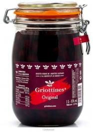 Griottines Original A La Liqueur Et Au Kirsch Liqueur 15% 100 cl - Hellowcost