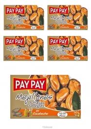 Pay Pay Moules En Sauce Marinade Poids Net 115gr Lot De 5 - Hellowcost