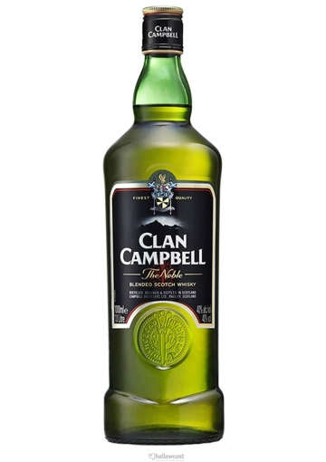 Clan Campbell Whisky 40º 1 Litre