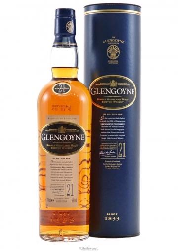 Glengoyne 21 Ans Whisky 43% 70 Cl
