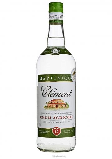 Clement Rhum Blanc 55% 1 Litre