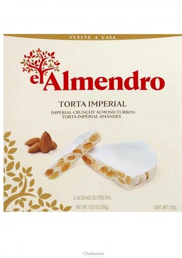El Almendro Turron Torta Imperial 200 Gr