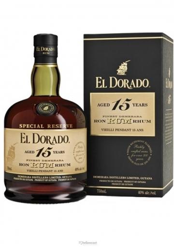 El Dorado Rhum 15 Ans 43º 70 Cl