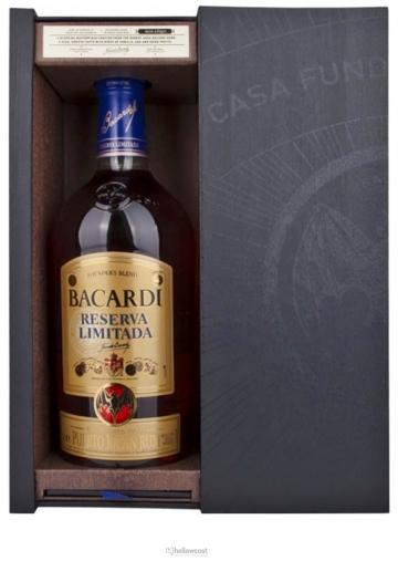 Bacardi Reserva Limitada 40% 1 Litre