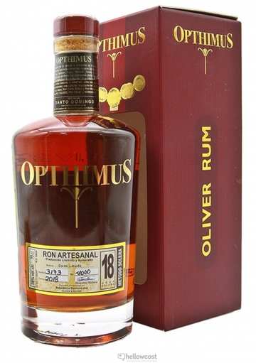 Opthimus 18 Years Rhum 38º 70 Cl