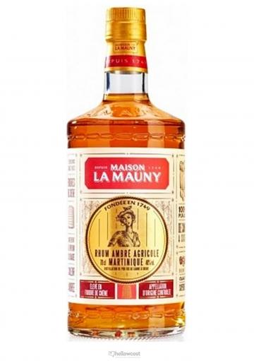La Mauny Ambre Rhum Agricole 40º 1 Litre