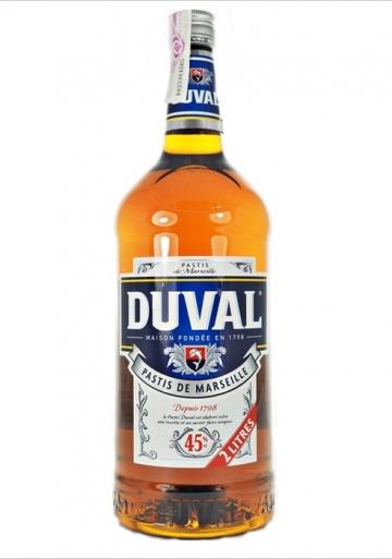 Duval Pastis De Marseille 45º 200 Cl Plastique