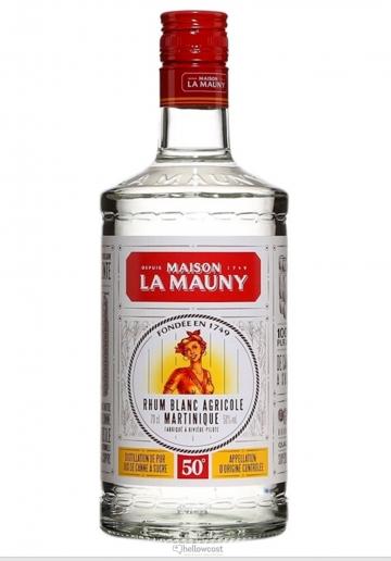 La Mauny Rhum Blanc Agricole 50º 1 Litre