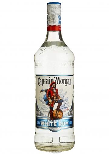 Captain Morgan White Ron 37.5% 100 cl