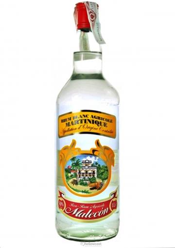 Malecon Rhum Blanc Agricole 50% 1 Litre