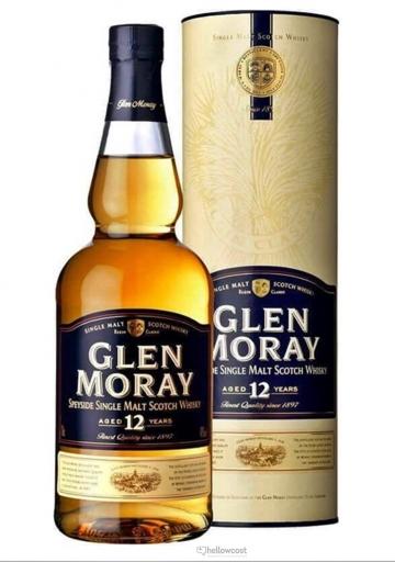 Glen Moray 12 Ans Whisky 40% 70 Cl
