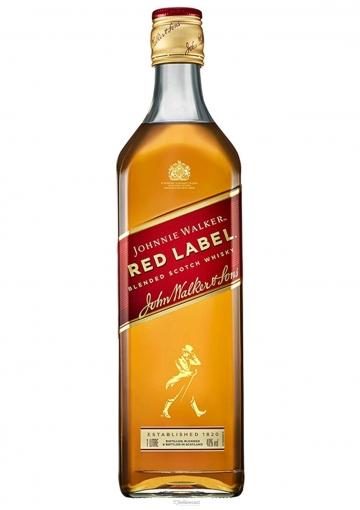 Johnnie Walker Red Label Whisky 40º 1 Litre