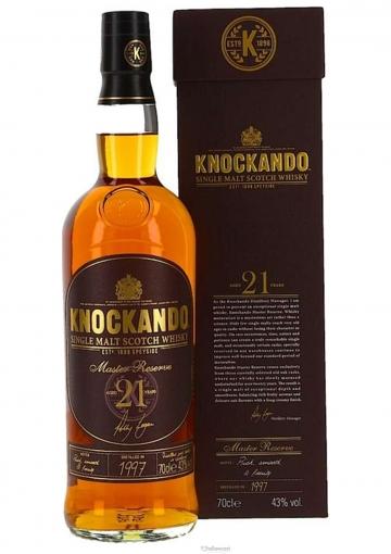Knockando 21 Ans 1994 Master Reserve Whisky 43% 70 Cl